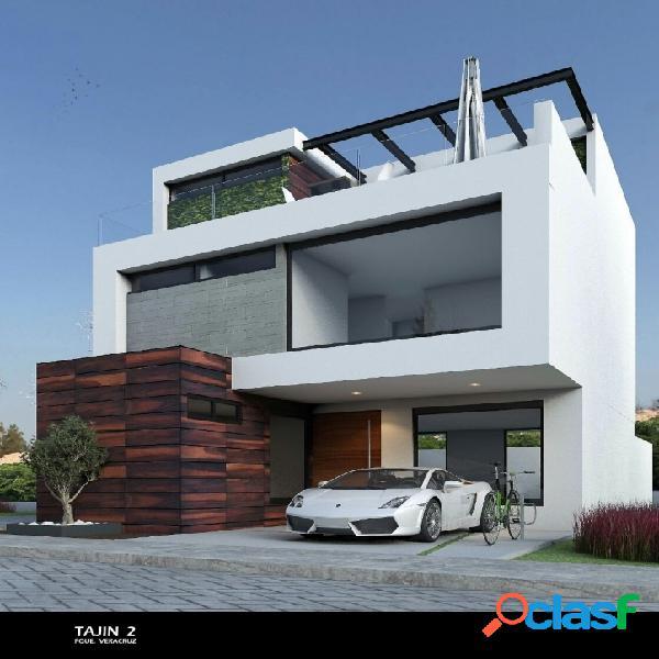 Casa minimalista en venta en parque veracruz con roof