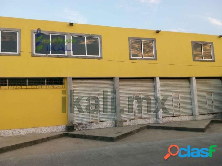 Renta local comercial 24 m² col. del valle tuxpan veracruz, del valle