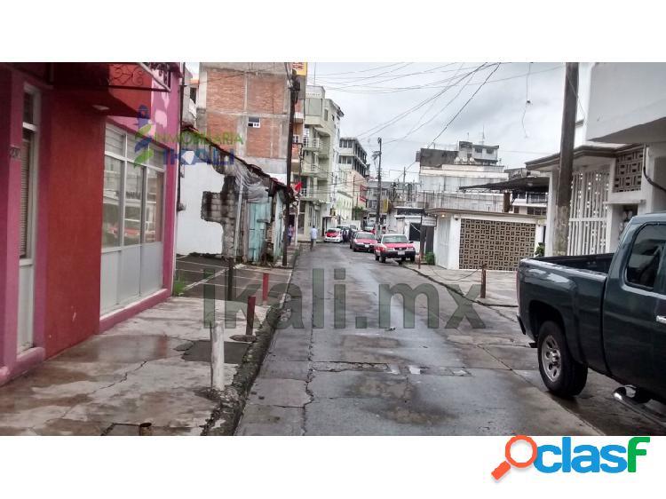 Renta local comercial en tuxpan veracruz calle mina de la colonia centro, tuxpan de rodriguez cano centro