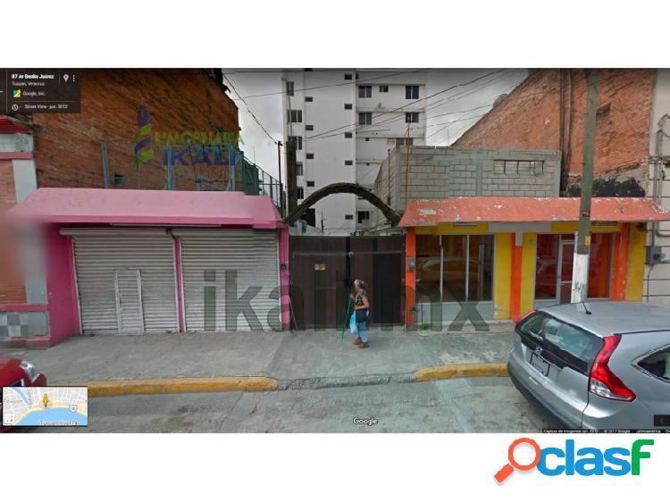 Renta locales comerciales 270 m² centro de tuxpan veracruz, tuxpan de rodriguez cano centro
