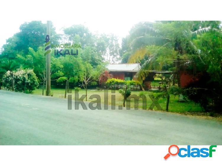 Terreno en venta coatzintla veracruz 11 hectáreas en la carretera a palma sola, palma sola