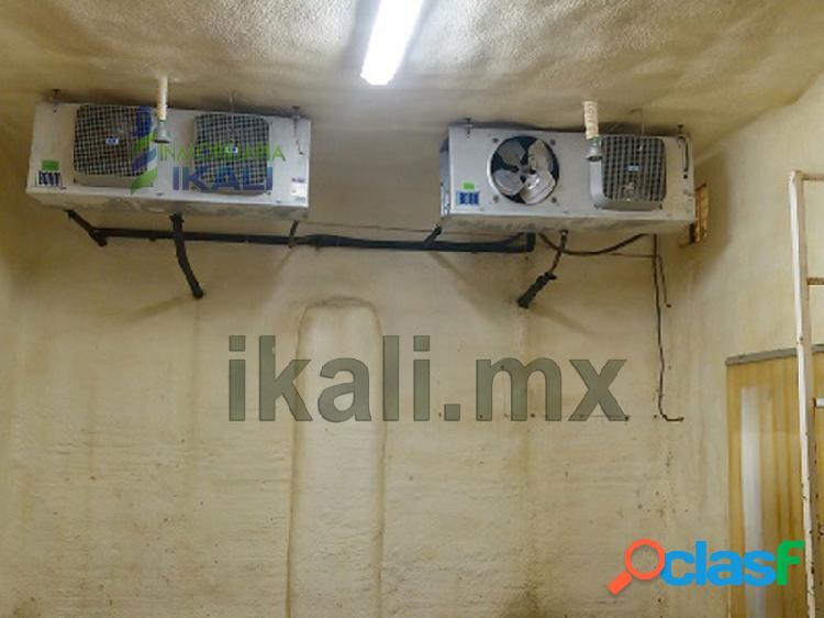 Renta camara de refrigeracion 165 m3 tuxpan veracruz, la victoria