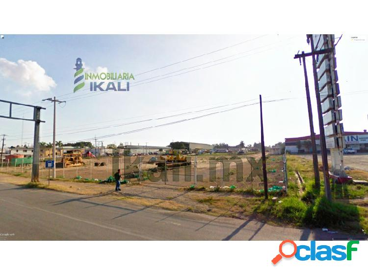 Vendo terreno comercial 3816.66 m² col. miramar altamira tamaulipas sobre la carretera cd.l mante, miramar sector 1