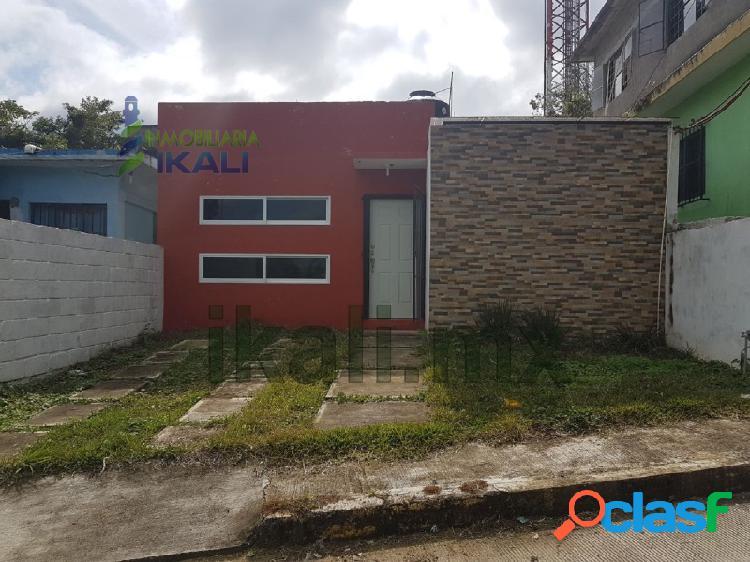 Venta casa nueva tuxpan veracruz un piso 2 rec. en el centro, tuxpan de rodriguez cano centro