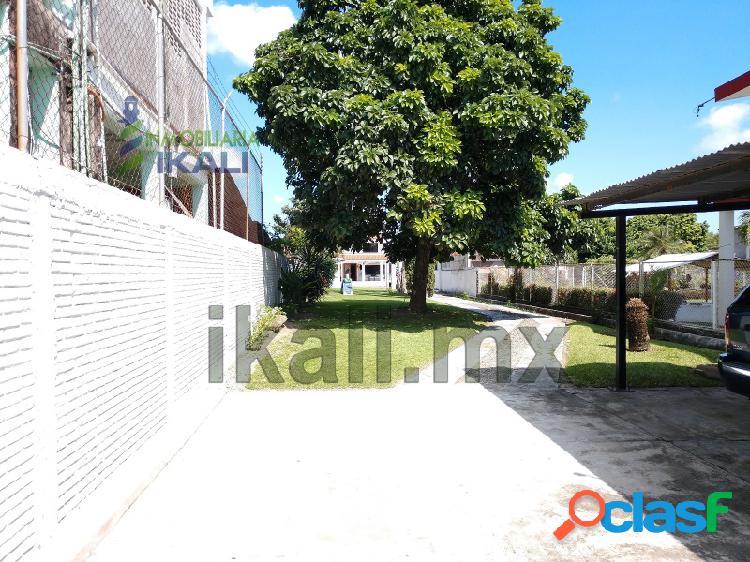 Renta Casa Amueblada 3 recamaras frente al río Tuxpan Veracruz, La Rivera 1