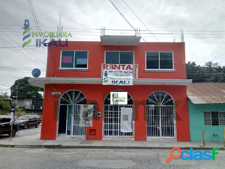 Renta local comercial planta baja centro tuxpan veracruz, tuxpan de rodriguez cano centro