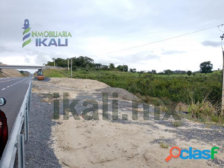 Rento terreno 19 ha km 16.4 nueva autopista tuxpan - tampico veracruz, zapotalillo