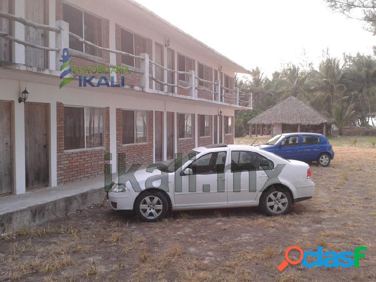 Venta de hoteles en la playa tuxpan veracruz, 12 habitaciones amuebladas, san antonio