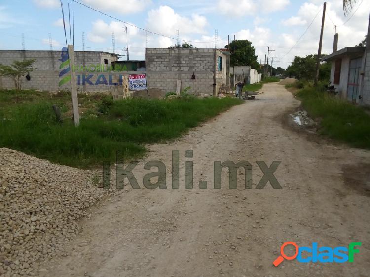 Venta terreno 300 m² colonia del puerto tuxpan veracruz, del puerto