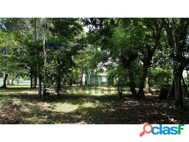Venta terreno 4,277 m² juana moza frente al río tuxpan veracruz, isla de juana moza