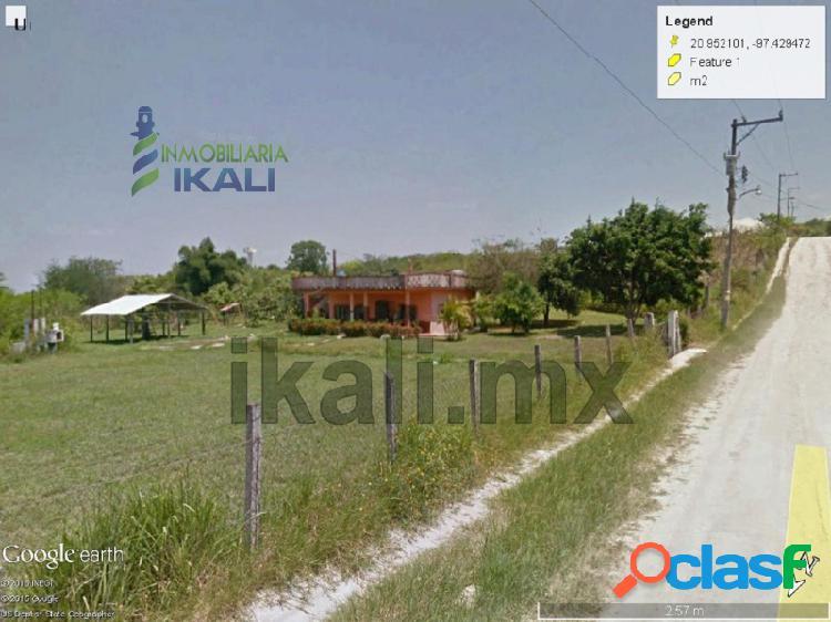 Vendo terreno con casa tuxpan ver 4,200 m² las granjas, las granjas infonavit