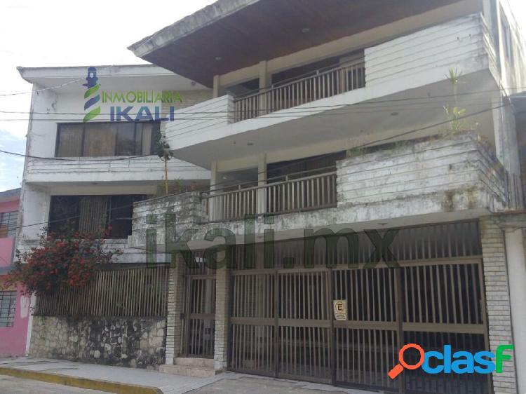 Renta edificio de oficinas centro tuxpan veracruz 3 pisos, tuxpan de rodriguez cano centro