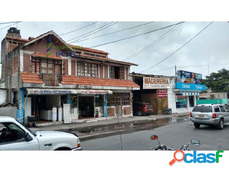 Renta locales comerciales oficinas 1115 m² centro tuxpan veracruz, benito juárez