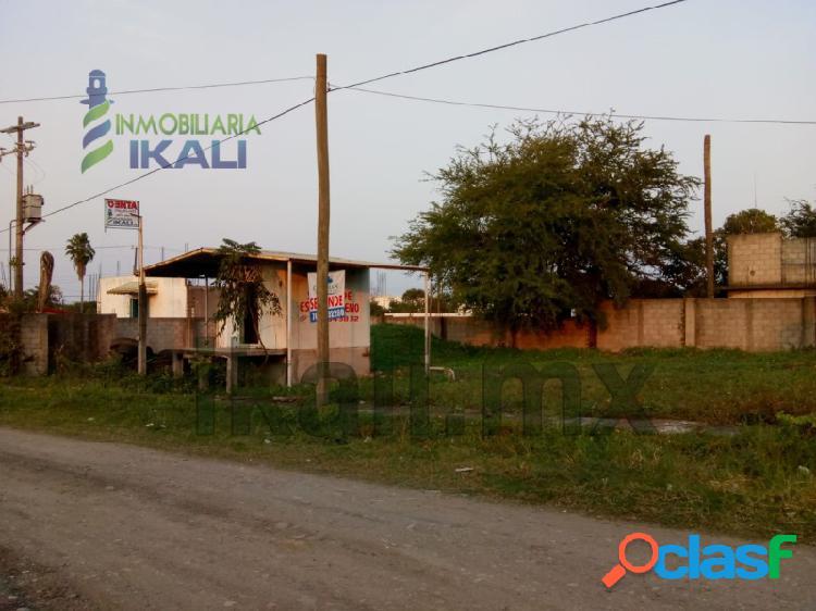 Terreno industrial en venta tuxpan ver zona de muelles pesqueros, la victoria