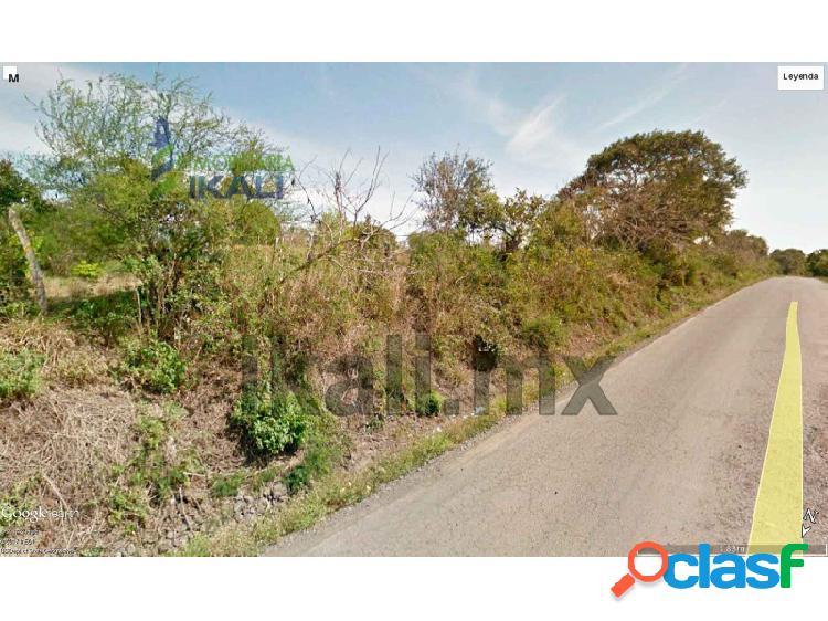 Venta rancho 23 hectáreas carretera tuxpan tamiahua km. 40, tamiahua