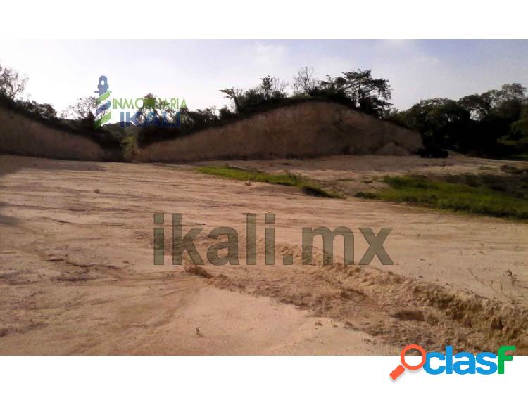 Venta terreno 2.5 hectáreas colonia ochoa tuxpan veracruz méxico, lic rafael hernandez ochoa