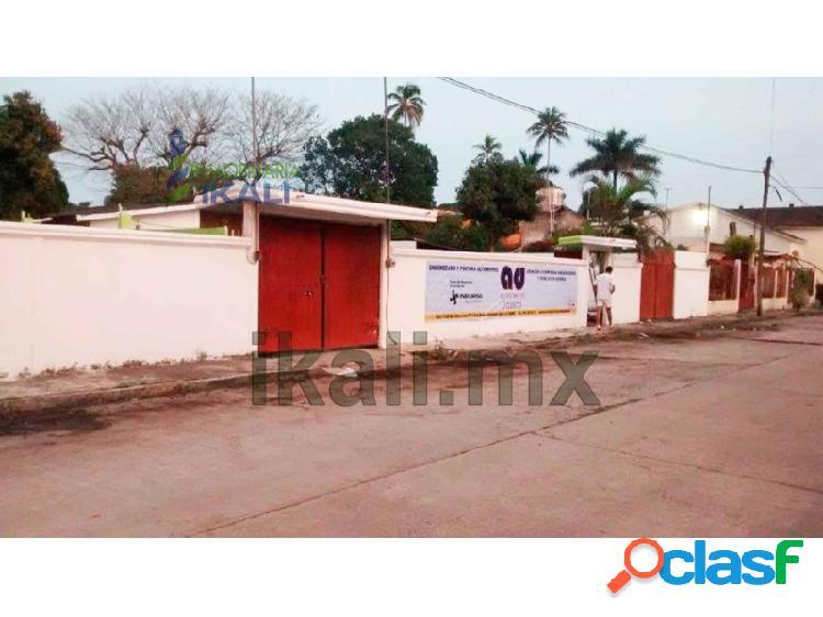 Renta casa con local comercial rodríguez cano tuxpan veracruz 3 recamaras, enrique rodriguez cano