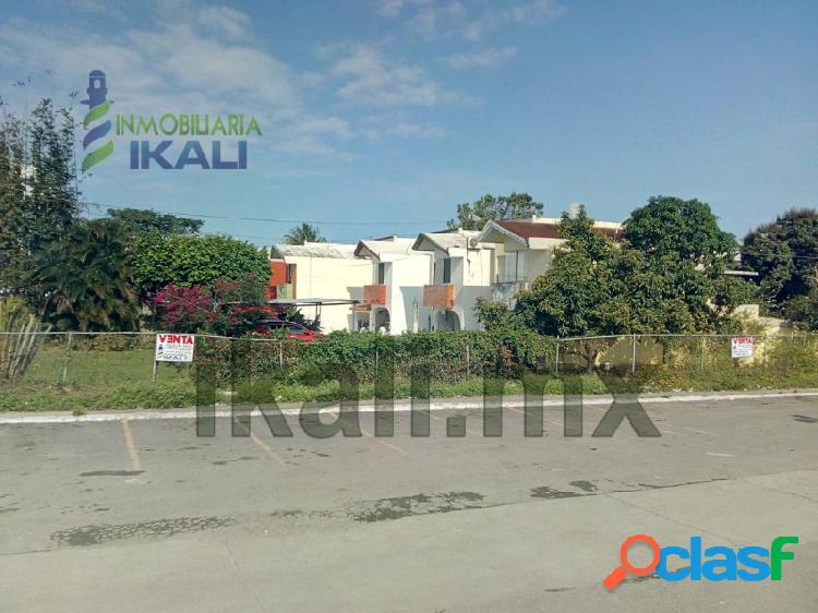 Vendo terreno 305 m² col. tropicana tuxpan veracruz, tropicana