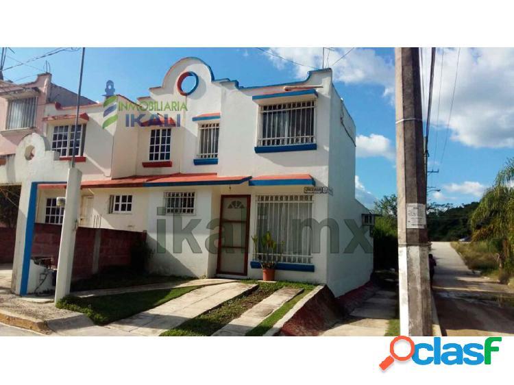 Casa venta colonia lomas del sol tuxpan veracruz 2 habitaciones, infonavit lomas del sol