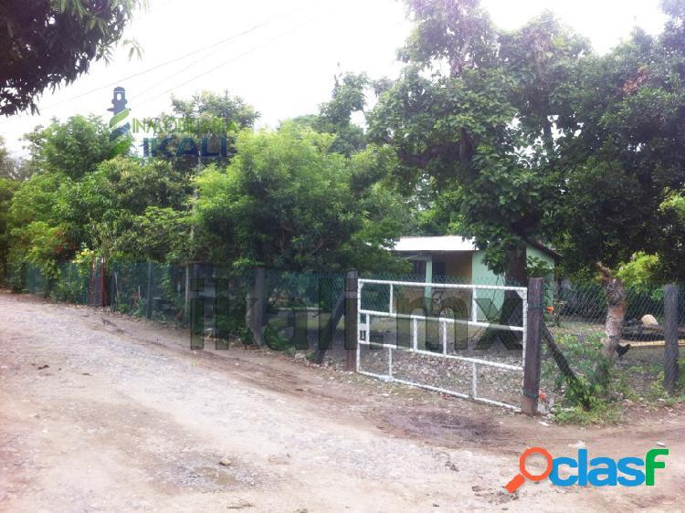 Vendo terreno con construcción en esquina la victoria tuxpan veracruz 742 m², la victoria