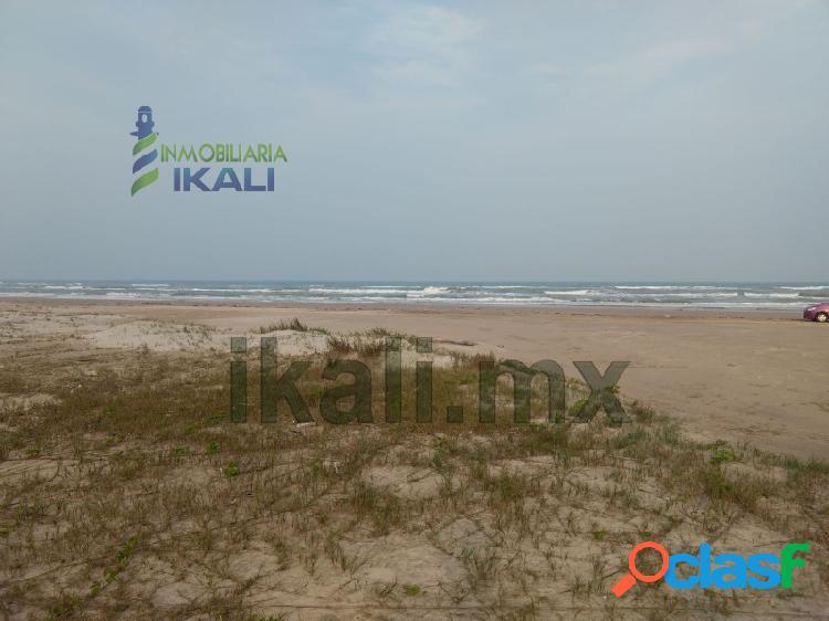 Venta terreno 200 hectáreas playa tamiahua veracruz, palo blanco