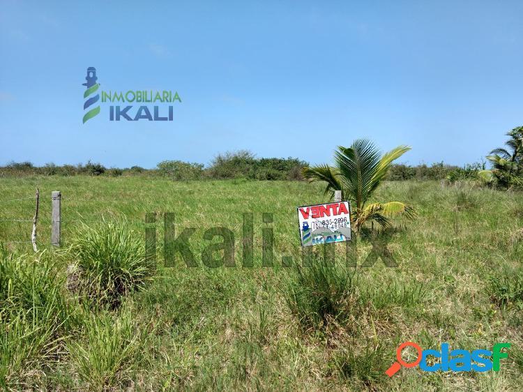 Vendo terreno 7 hectáreas laguna tampamachoco tuxpan veracruz, la barra norte