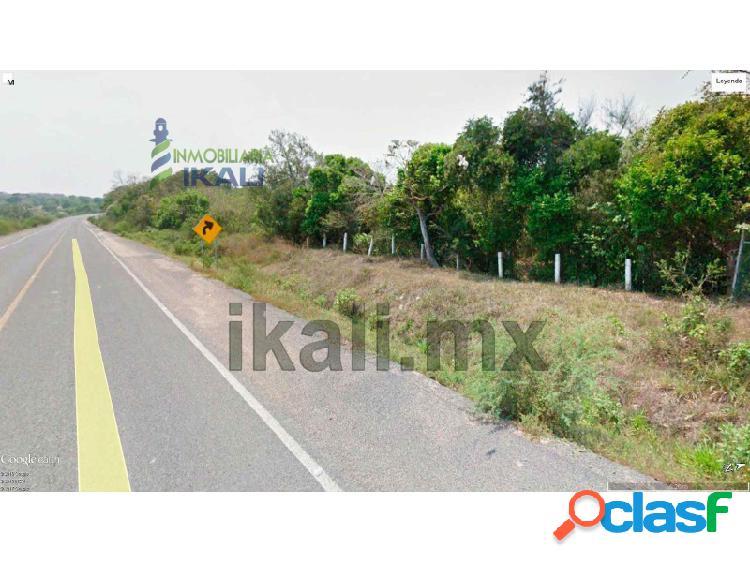Venta terreno 9.4 hectáreas zona industrial libramiento portuario tuxpan veracruz, corredor industrial