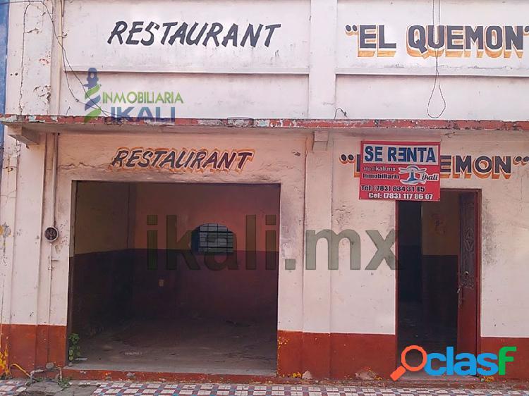 Locales en renta en tuxpan, veracruz, excelente ubicación, tuxpan de rodriguez cano centro