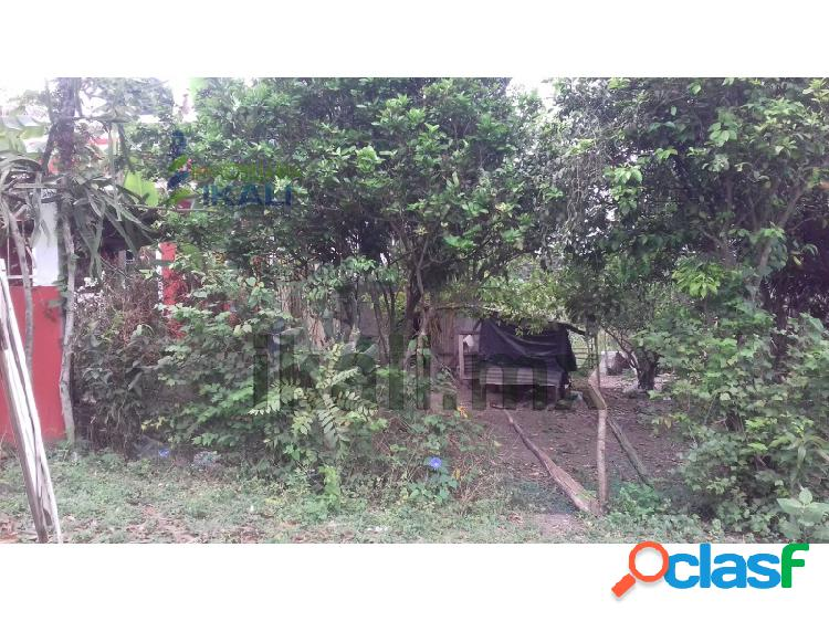Venta terreno 191 m² col. arroyo del maíz poza rica veracruz, arroyo del maíz
