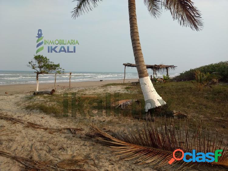 Venta terreno 200 hectáreas playa y laguna tamiahua veracruz, tamiahua