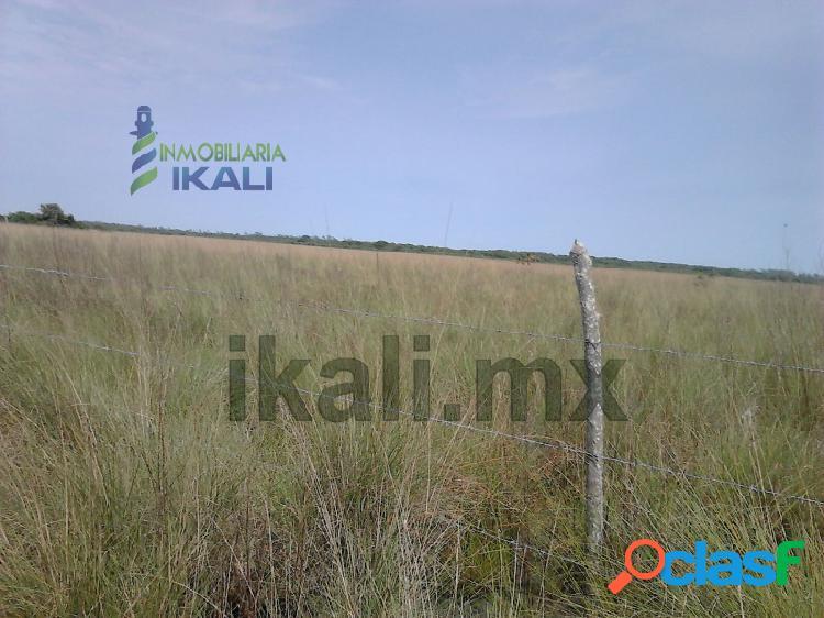 Venta de terreno frente a laguna de tampamachoco tuxpan ver 2,003 has, petrolera