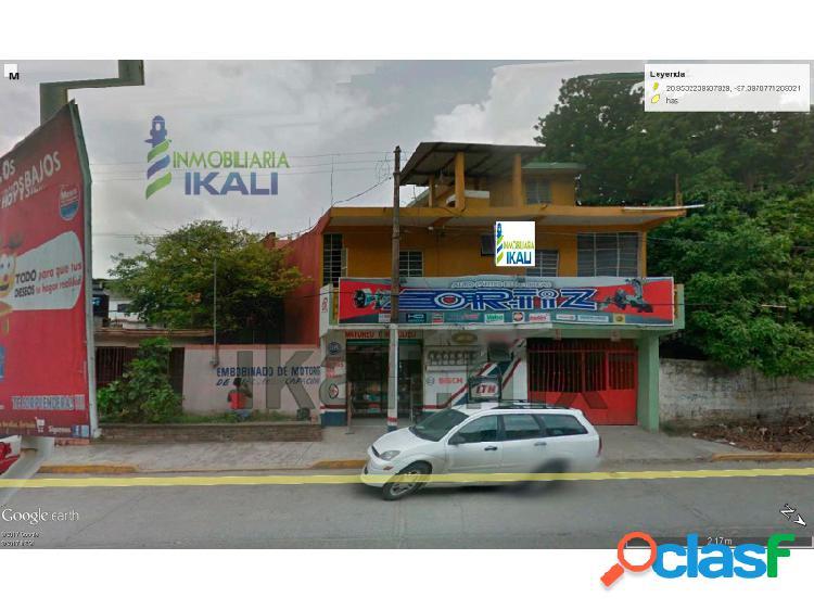 Venta edificio comercial 3 pisos céntrico tuxpan veracruz, tuxpan de rodriguez cano centro