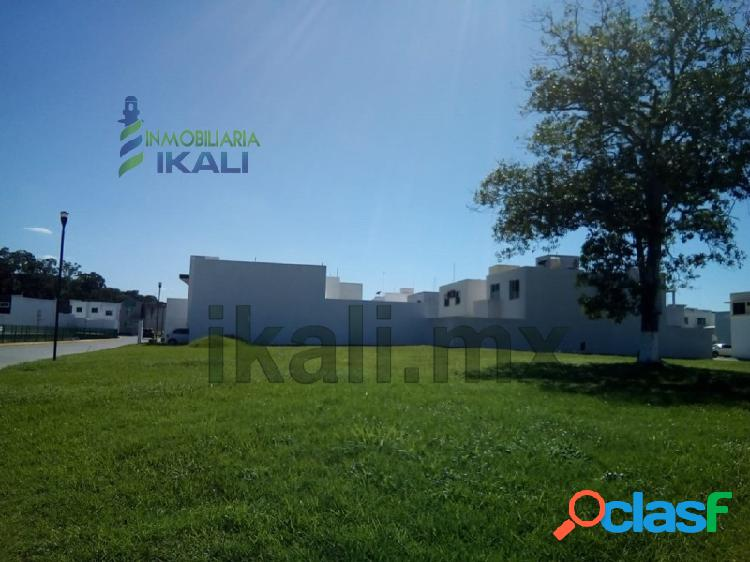 Venta terreno 283.34 m² col. lomas residenciales poza rica veracruz, villa de las flores