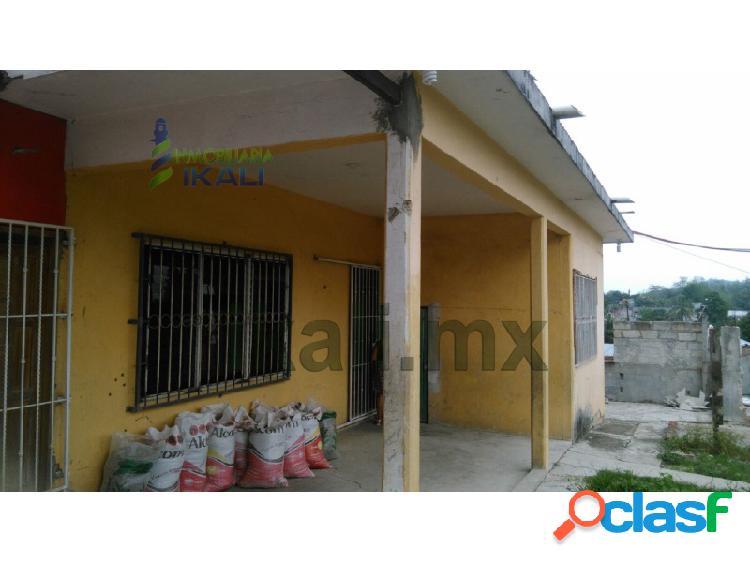 Renta casa centrica 2 recamaras tihuatlan veracruz, azteca