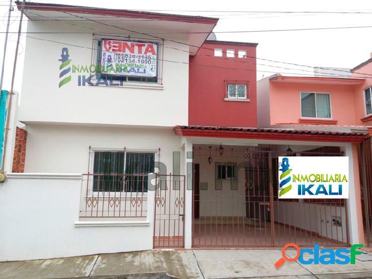 Se vende casa 3 habitaciones en la colonia rosa maria en tuxpan veracruz., rosa maria