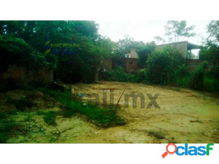 Venta terreno 673 m² col. manuel avila camacho poza rica veracruz, manuel avila camacho