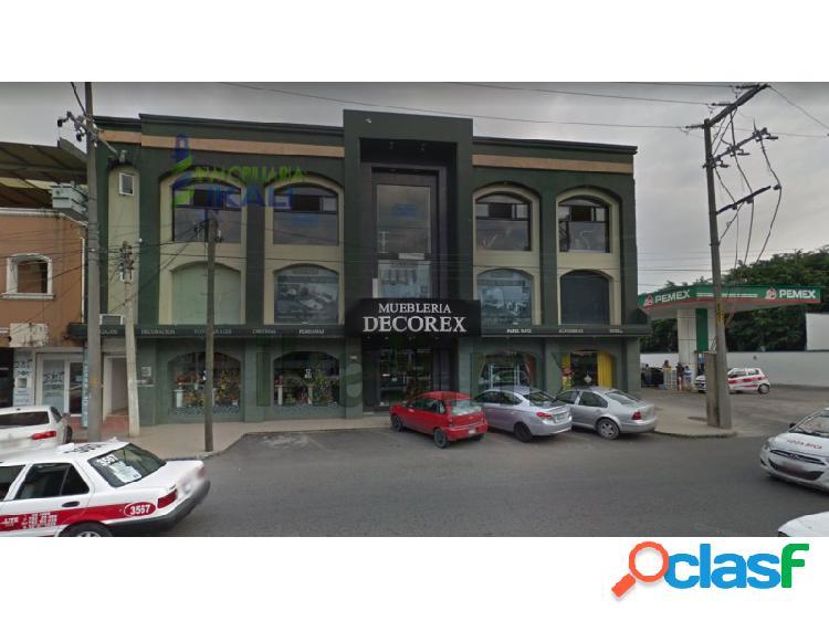 Renta local comercial 210 m² cazones poza rica veracruz, cazones