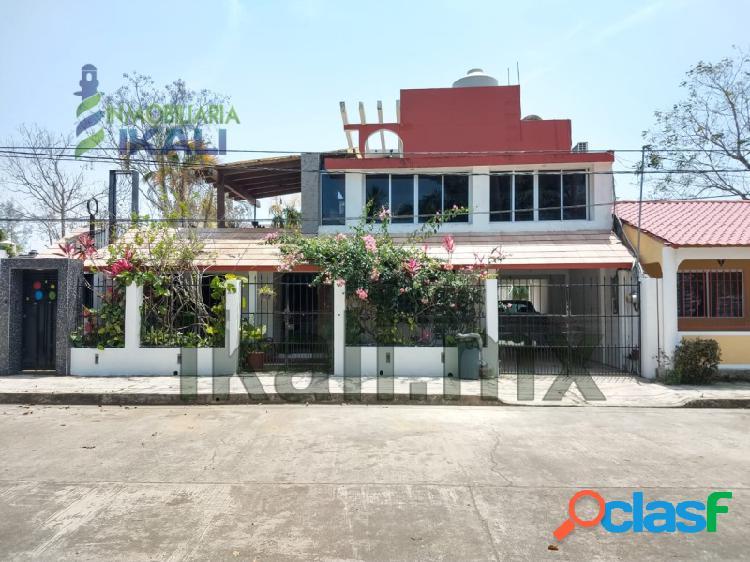 Renta casa amueblada santiago de la peña orilla del río tuxpan veracruz, santiago de la peña