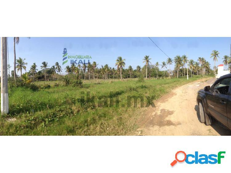 Terreno en venta de 570 m² fracc las palmas tuxpan veracruz, las palmas