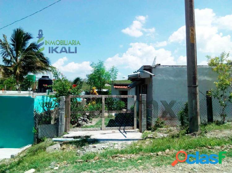 Casa y 2 habitaciones aparte en venta col. colinas del sol tuxpan veracruz, colinas del sol