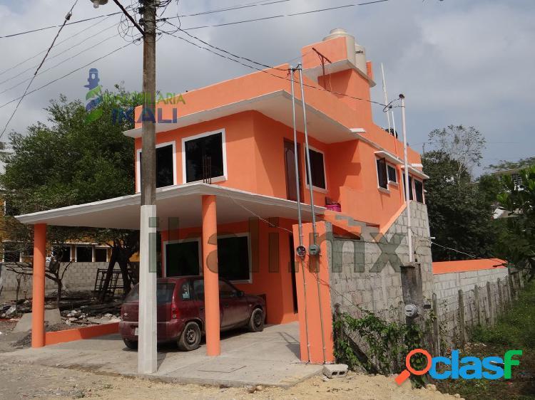 Renta casa 2 recamaras climatizadas col. villa rosita tuxpan veracruz, villa rosita