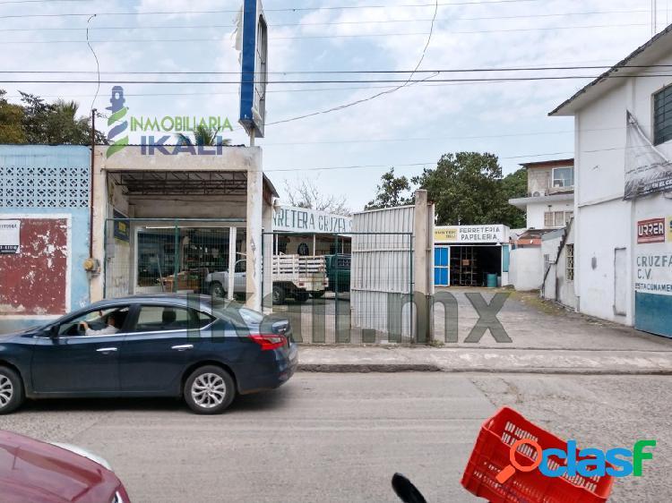 Renta local comercial centro tuxpan veracruz, tuxpan de rodriguez cano centro