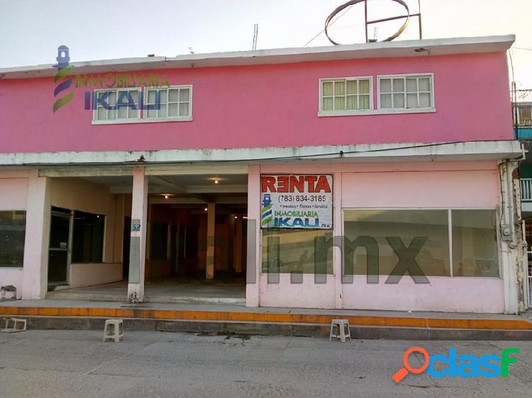 Renta locales comerciales centro de tuxpan veracruz en calle clavijero, tuxpan de rodriguez cano centro