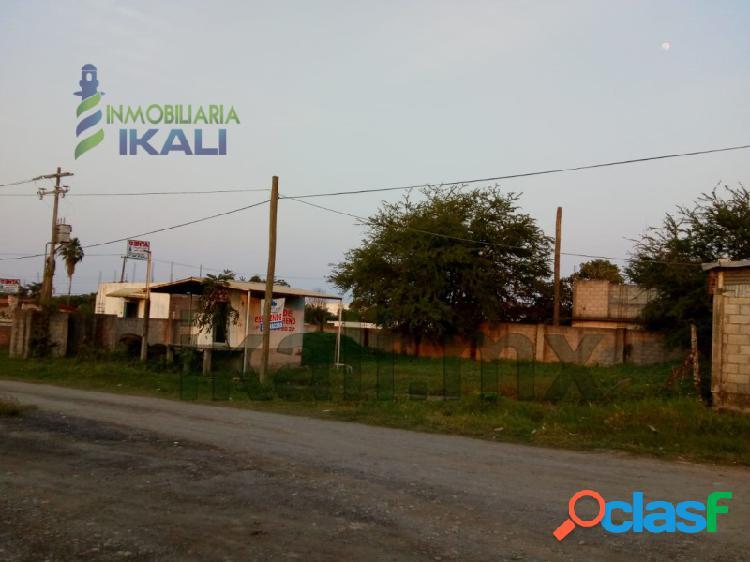renta terreno industrial en área de muelles tuxpan veracruz, La Victoria