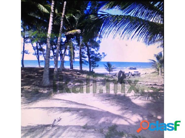 Terreno venta 6732.60 m² en la playa norte tuxpan veracruz, la barra norte