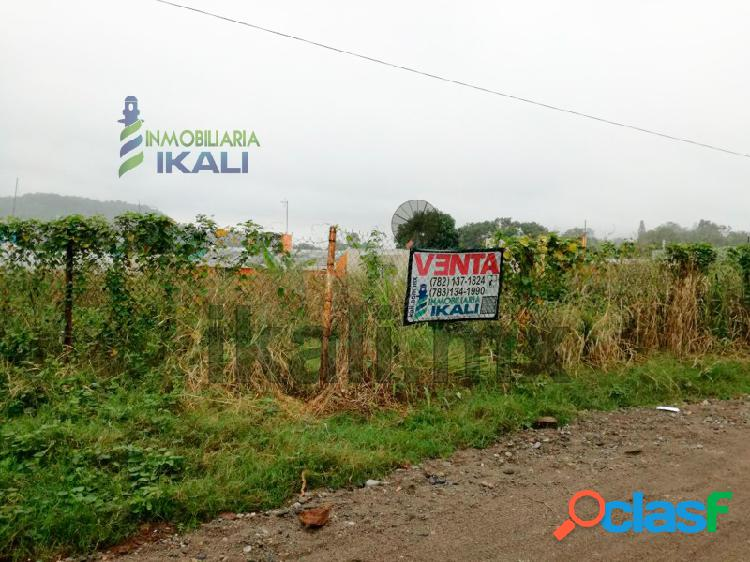 Terreno en venta 865.50 m² col. petrolera poza rica veracruz, petrolera