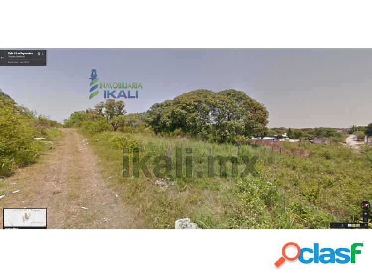 vendo terreno 722 m² colonia Naranjal Tuxpan Veracruz con 2 esquinas, El Naranjal
