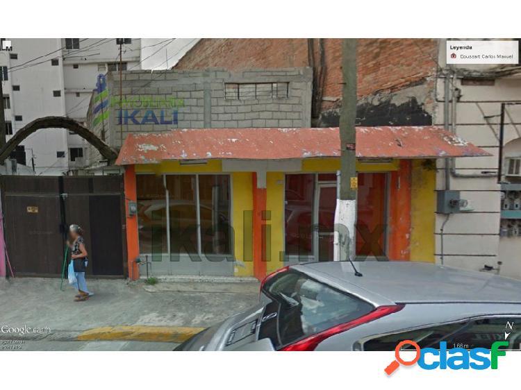 Local comercial con cochera en renta 200 m² centro de tuxpan veracruz, tuxpan de rodriguez cano centro