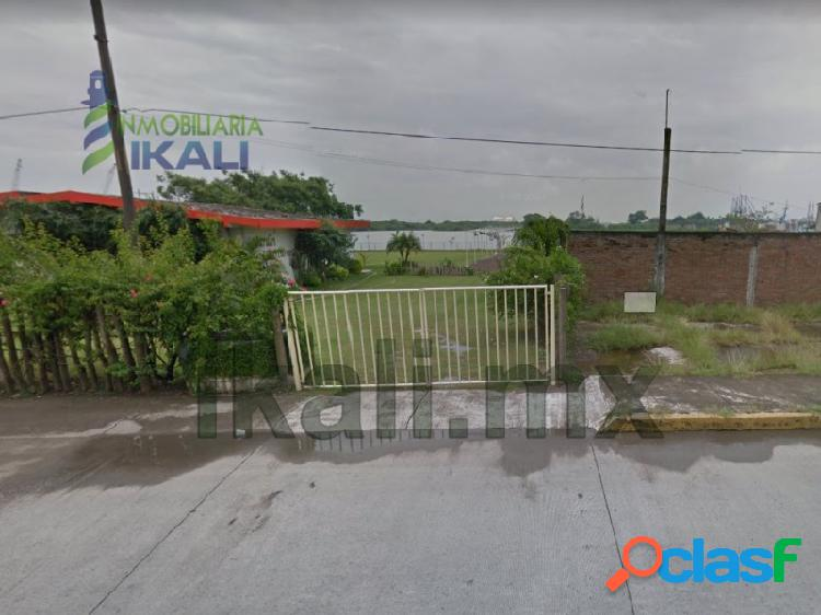 Vendo terreno 1,000 m² camino a la playa frente al río tuxpan veracruz, la calzada