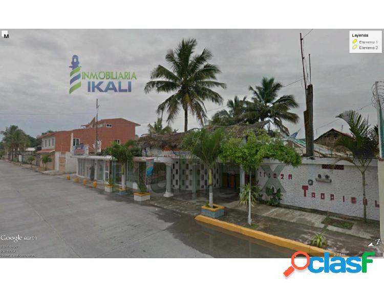 Local comercial renta 1600 m² cerca playa tuxpan veracruz, la calzada